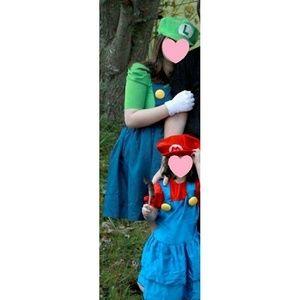 Nintendo Dresses - Luigi Halloween costume dress, dress only